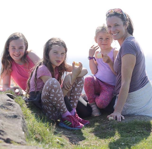 Janice Armstrong of GatheredThreads blog features on Aly HArte's blog about Mum life!