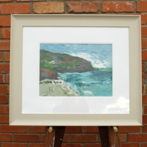 Coumeenole beach oil painting