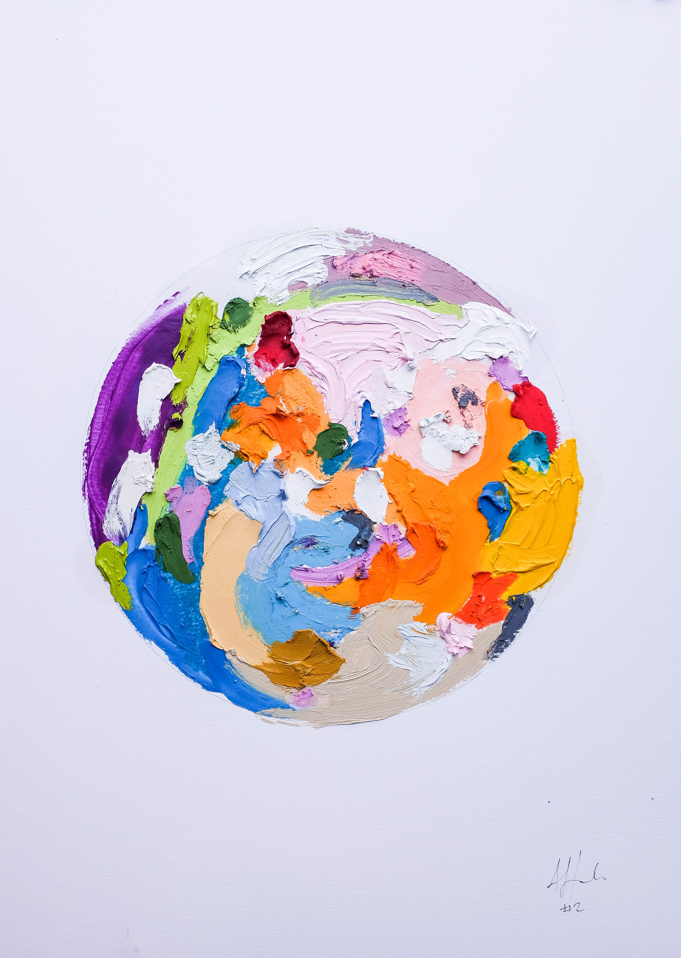 Abstract Circle Collection A3